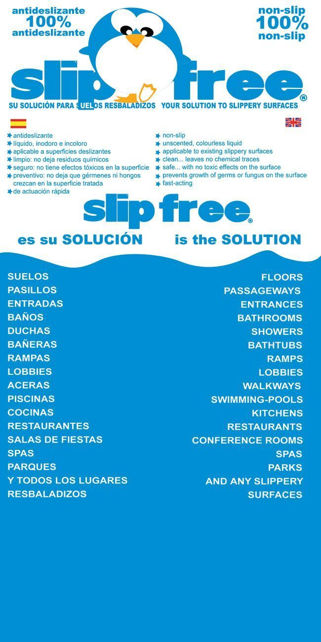 Slipfree soluci n suelos antideslizantes evita for Mantenimiento piscinas pdf