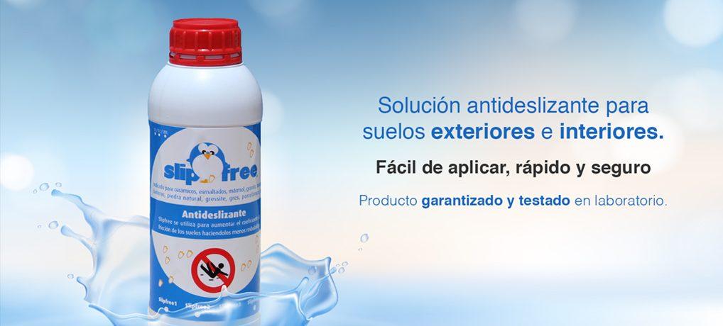 Producto antideslizante de acción permanente.